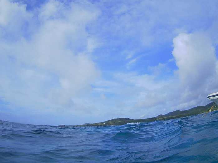 晴れ時々曇りの天気は続く石垣島です。