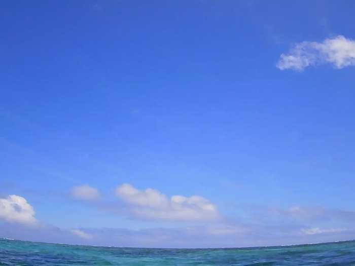 朝からずっと晴れの石垣島です。