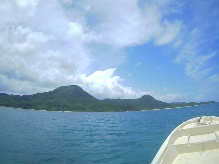 一日ずっと晴れの石垣島です。