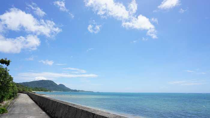 天気は絶好調の石垣島です。