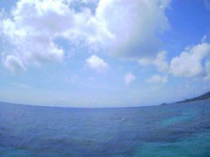 石垣島の海、楽しくてしょうがない♪