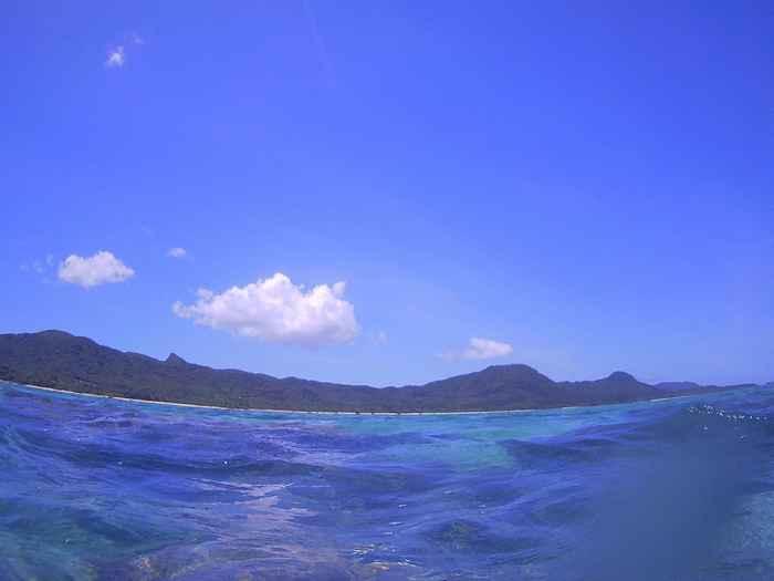 石垣島の天気は今日も晴れ