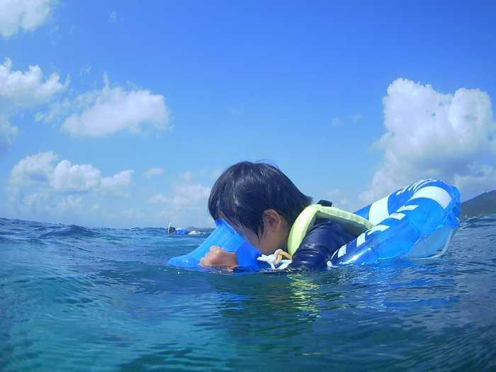 2本目は海遊び