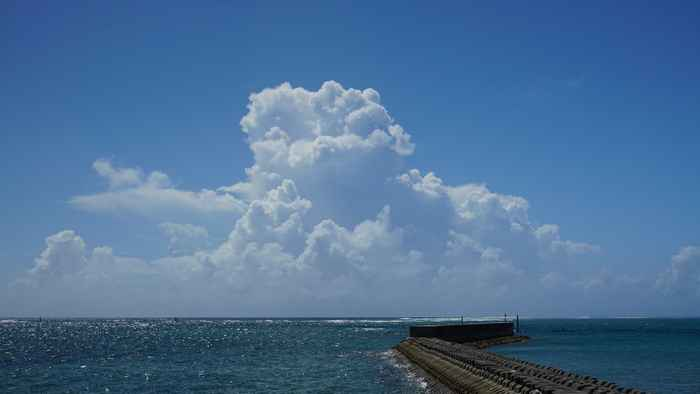 夏空、夏雲、夏景色♪の石垣島