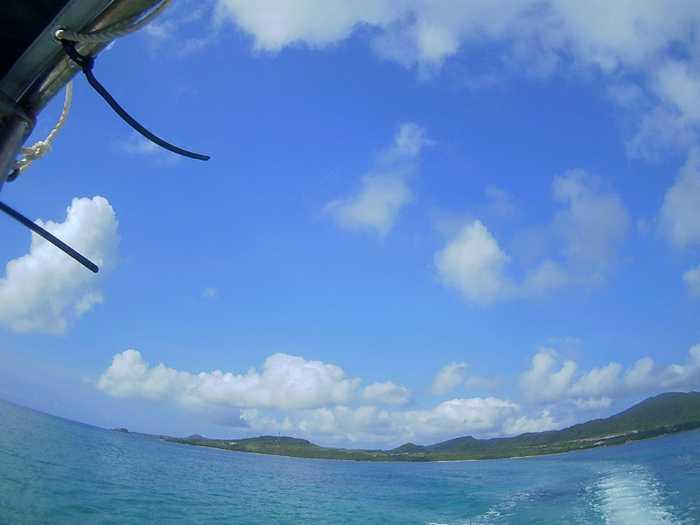 7月ここ一番の穏やかな海