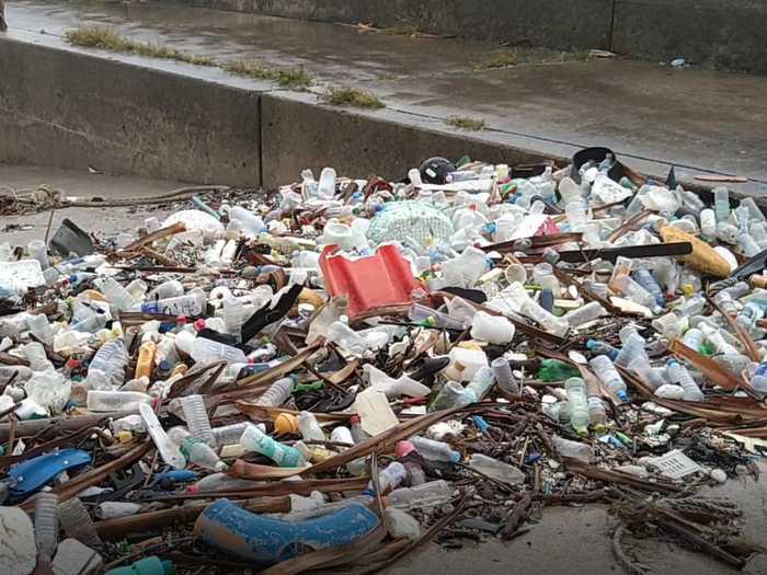 海洋プラスティックゴミ