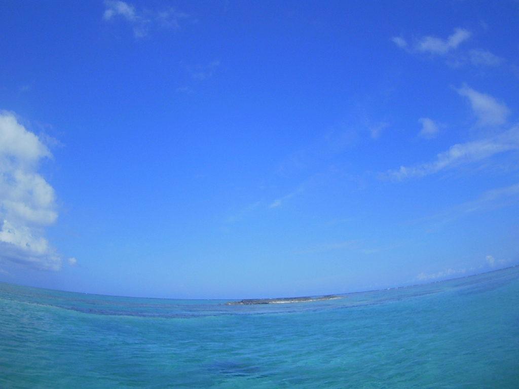 ベストコンディションの石垣島の海です
