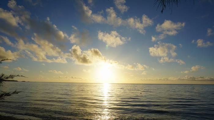 朝日絶好調の石垣島