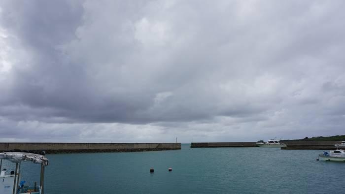 今日の港の様子