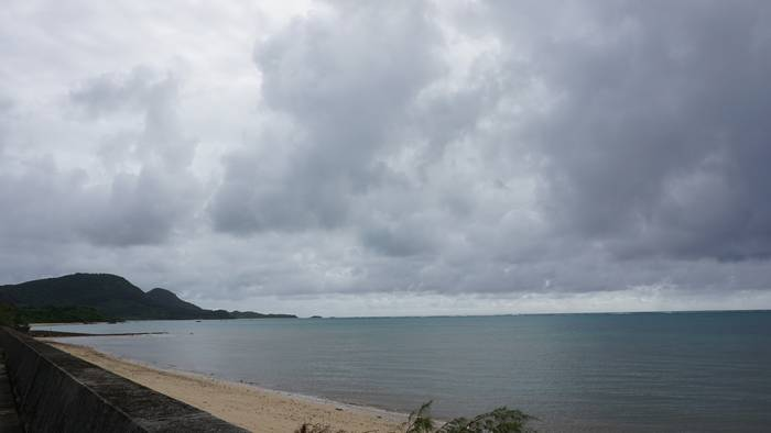 台風前ですが、穏やかです