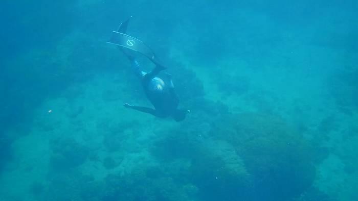 水深10mラインへ