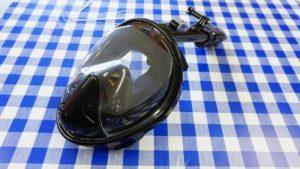 フルフェイスのシュノーケリングマスク!プロから見た実際のところ。