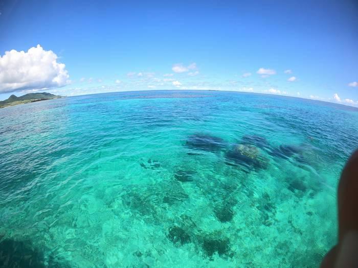 文句なしの海のコンディションです。