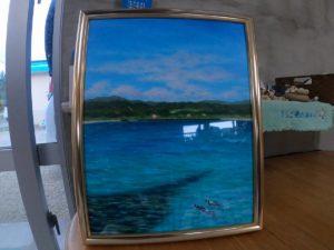 今回の石垣島旅行、水彩画は封印でシュノーケリング!