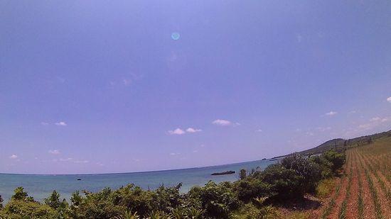 海が丸見えです♪