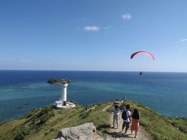 石垣島最北端、平久保灯台1