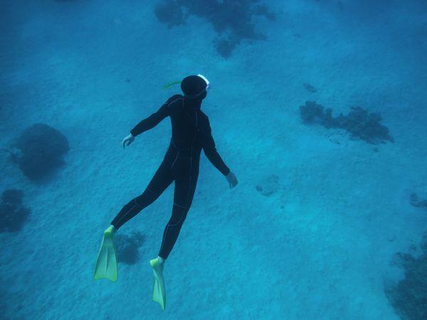 水中の浮遊感が好き
