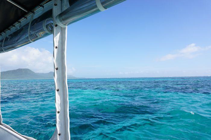そんな日の海も絶景