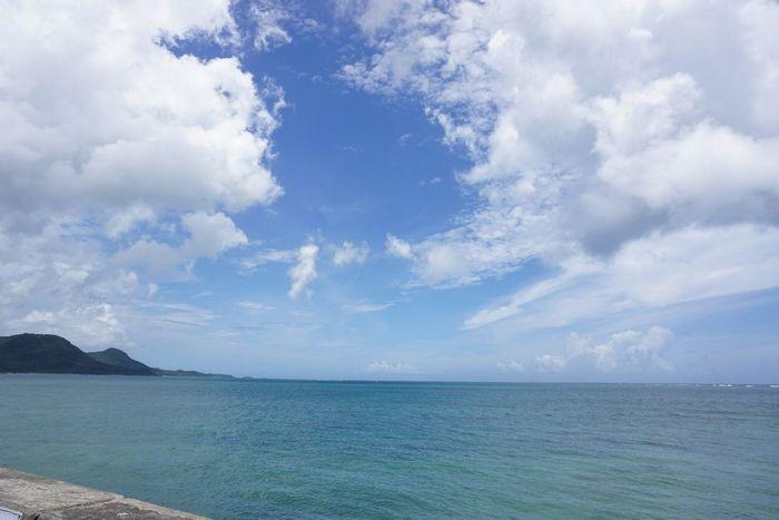 石垣島は梅雨明け?