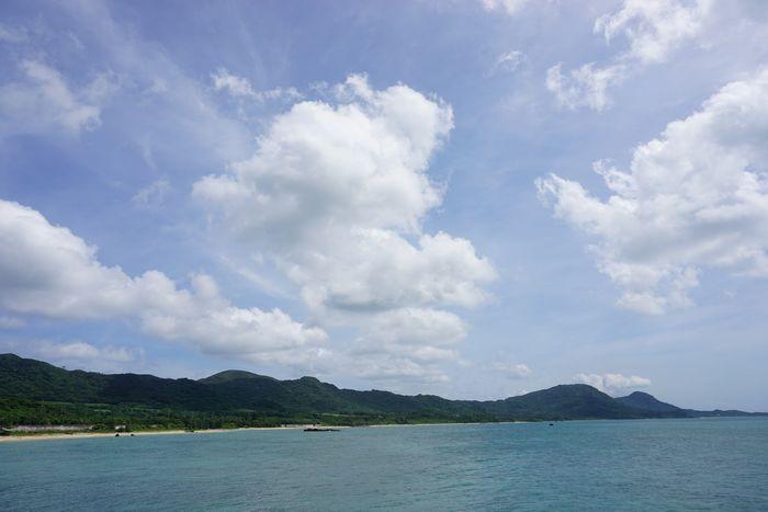 晴れの天気が続く石垣島