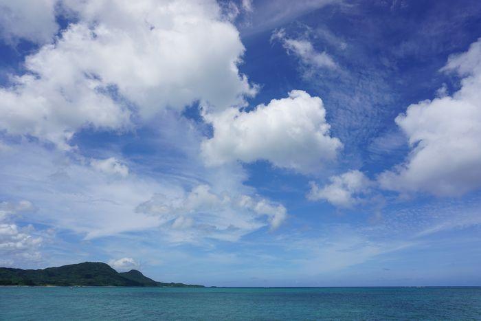 空模様は絶好調の石垣島です