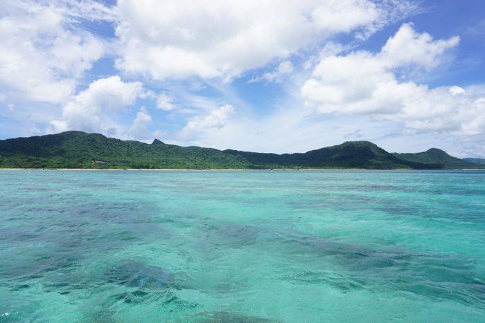 石垣島の海、ベストコンディションです