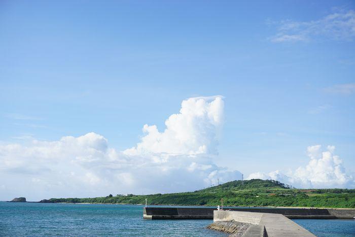 夏雲もくもくの石垣島