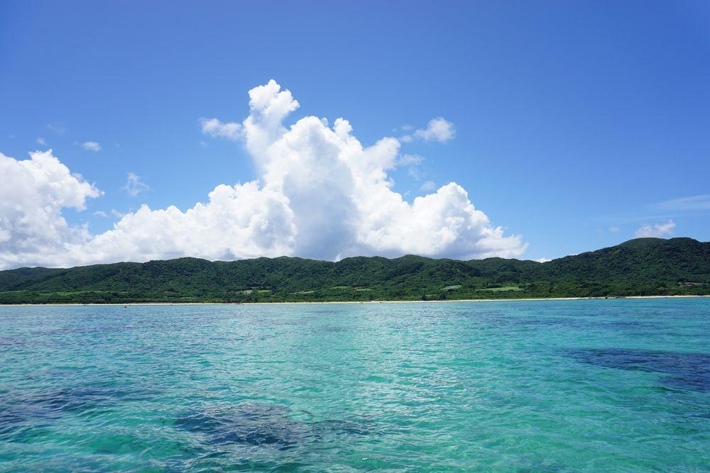 今日も石垣島はシュノーケリング日和です