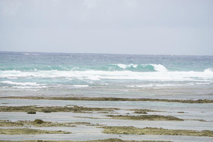 大浜海岸の海