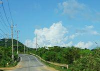 8月、夏雲もくもくの石垣島