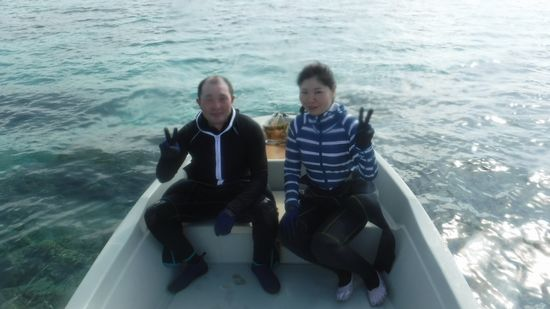 O田さんご夫婦です。