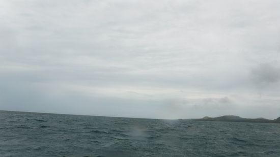 雨は大丈夫ですが、曇り模様です。