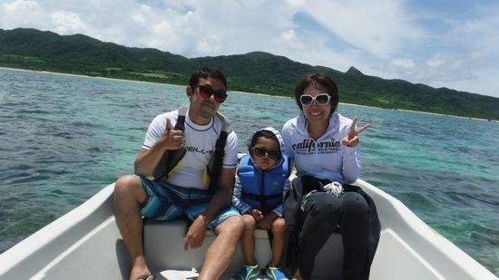 K田さんご家族です。