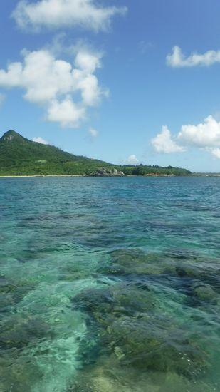 今日も日焼け日和、暑い石垣島です。