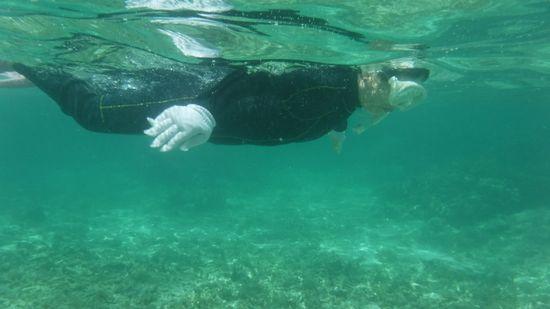 最後は平泳ぎです