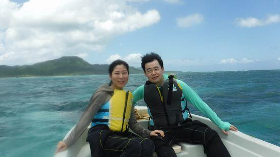 午後のツアーは、O崎さんご夫婦です。