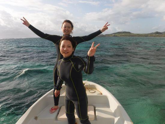 リピーターM田さんとK下さんです