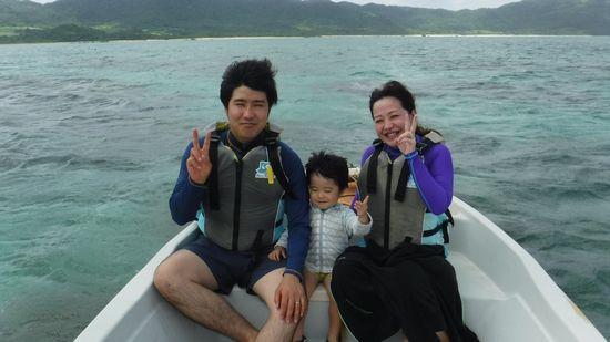 E木さんご家族です。