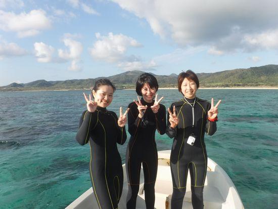 リピーターH川さんとY田さんとS原さんです