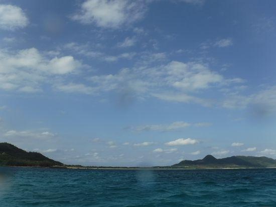 やっと晴れ間がでた石垣島です