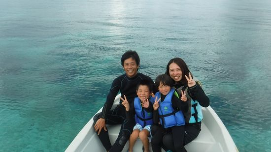T松さんご家族です。