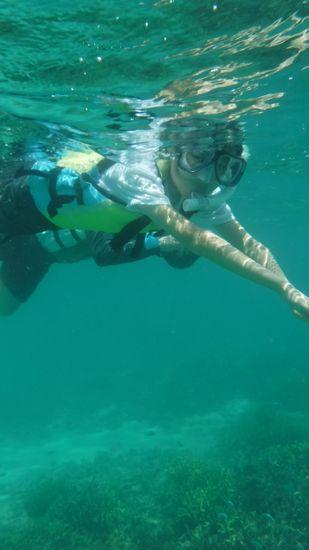 すぐにスムーズな泳ぎに大変身です。