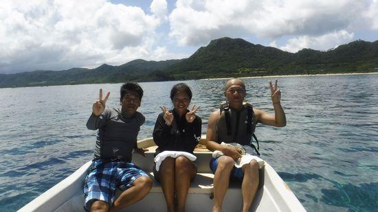 リピーターM島さんとK俣さんです。
