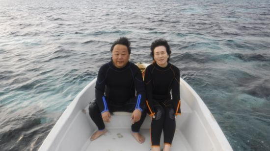 M田さんご夫婦です。