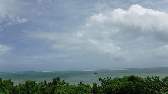 晴れている石垣島です。