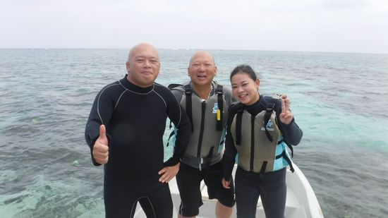 T田さんご夫婦とO保さんです。