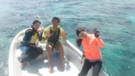 リピーターC南さんとK村さんとK林さんです。