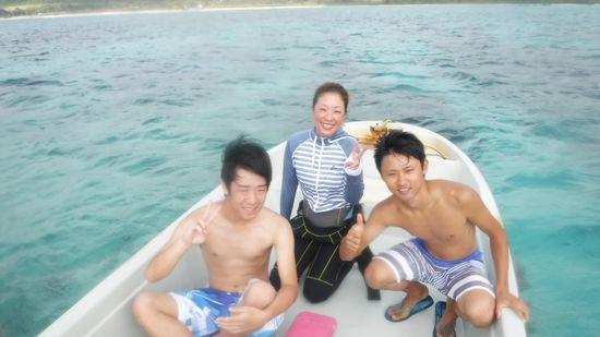 J鳥さんとI藤さん、T根さんです。
