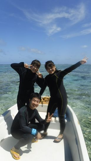 I川さんとI垣さんとM城さんです。