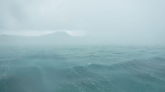 ひぃぃぃぃ!いきなり雨、強風です